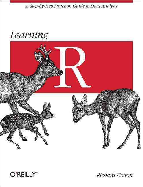 Learning R By Cotton, Richard